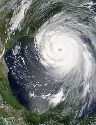 L'uragano Katrina si abbatte su New Orleans
