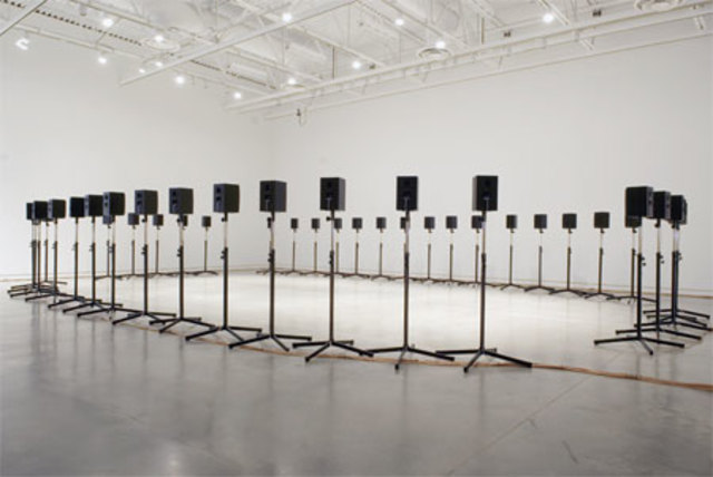 """Janet Cardiff creates """"The Forty Part Motet"""""""