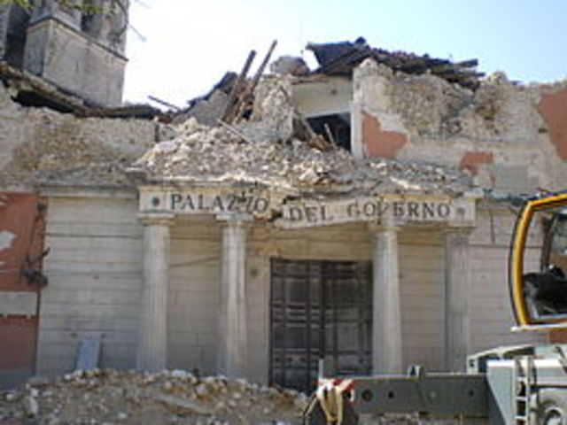 Terremoto dell'Aquila