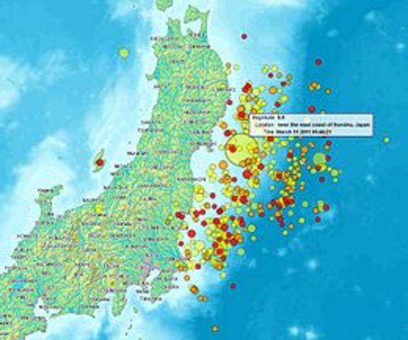 Terremoto e maremoto del Tōhoku del 2011
