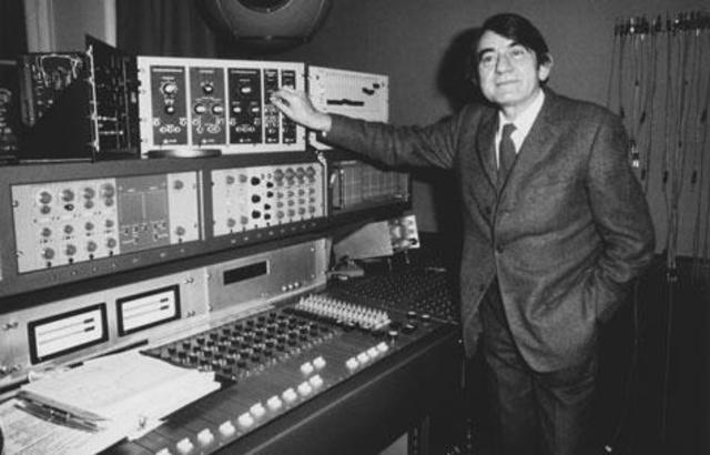 """Pierre Schaeffer premieres the results of his """"research into noises"""""""