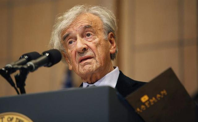 Elie Wiesel Wins Nobel Peace Prize