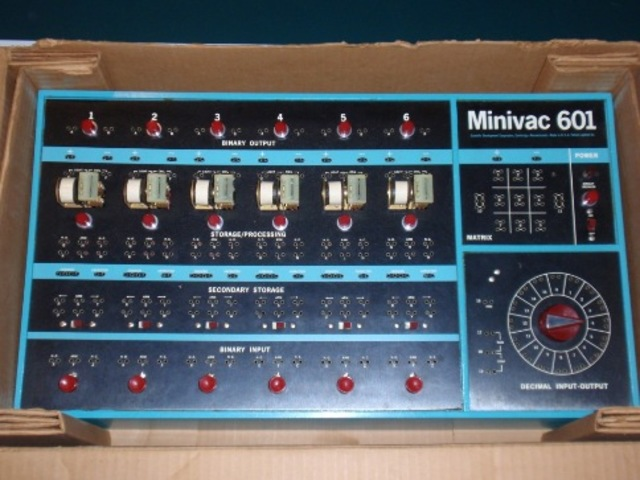 the SDC introduces the minivac 601