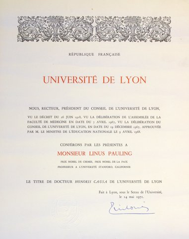 el doctor honoris causa