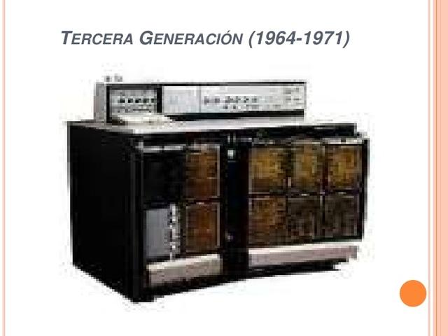 Tercera Generación (1964-1971)