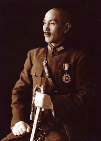El Generalísimo Chang Kai-Shek, líder militar chino y enemigo principal de los japoneses