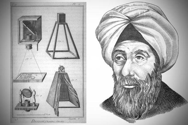 Alhazen invents first pinhole camera