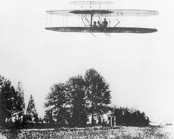 Primo volo in una macchina con pilota