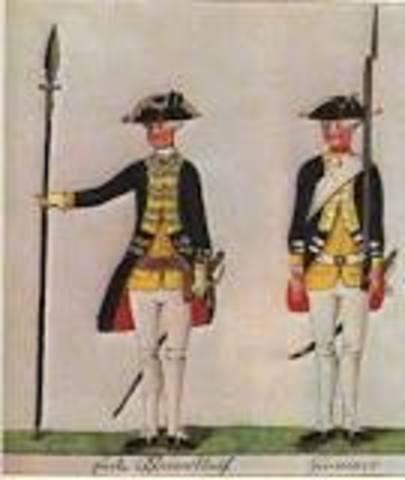 Hessians Capture Fort Washington, New York