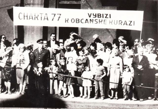 Intellektuel gruppe i Tjekkoslovakiet