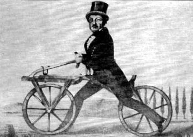 The First bike