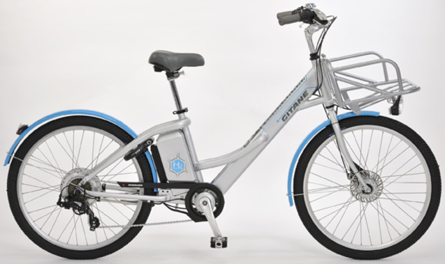 """""""Alter e-bike uses a hydrogen fuel cell to expand range"""""""