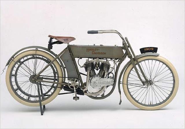 First Harley Davidson Motorcycle