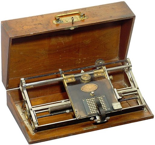 The Hall Typewriter