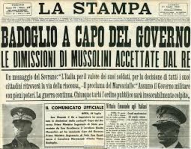 L'arrsto di Mussolini
