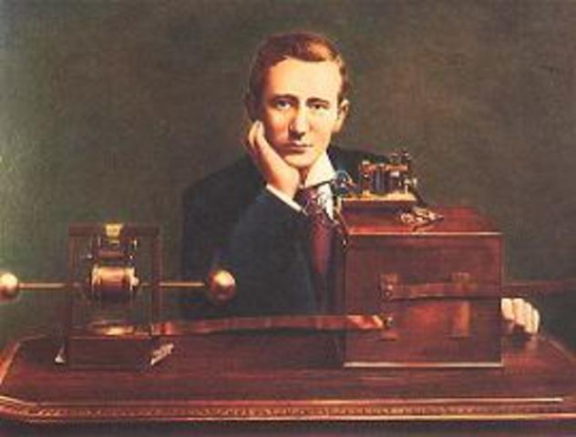 se introduce la radiotelegrafía