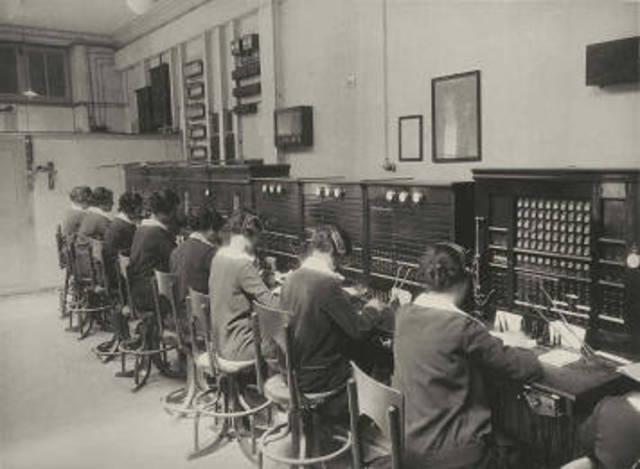 Servicio Telefónico público via radio con Europa