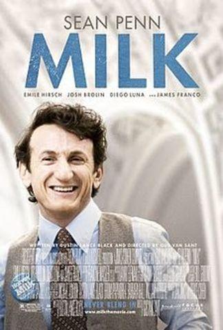 Exibição do filme Milk