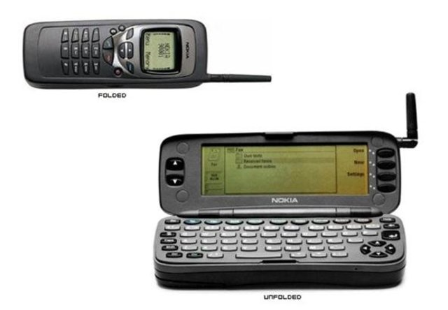 First QWERTY Keyboard, Web browser phone