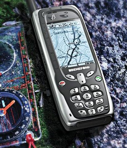 First Phone with GPS