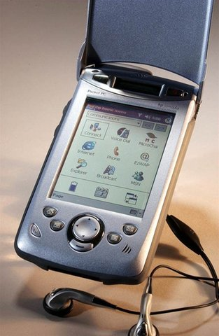 Microsoft's Pocket PC Phone