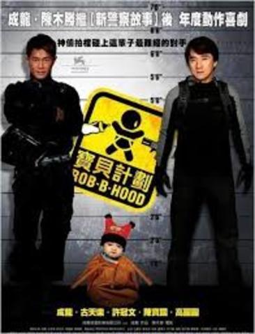 Chan plays anti-hero - Robin B Hood
