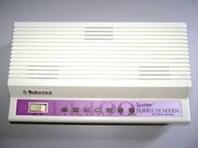 Se desarrolló la transferencia de datos a través del modem