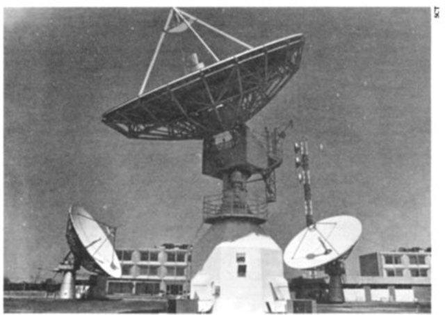 Se inicia la construcción de la red federal de microondas