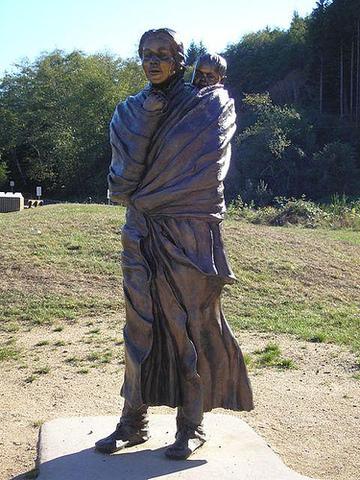 Lewis and Clark Meet Sacagawea