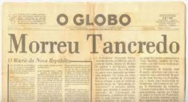 Vitória e morte de Tancredo Neves