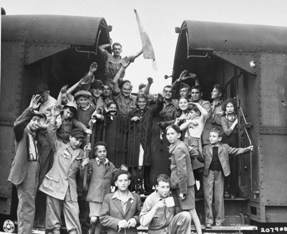 Wiesel's Buchenwald is Liberated