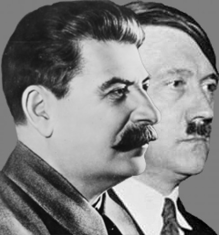 Germany and the Soviet Union Sign a Nonagression Agreement