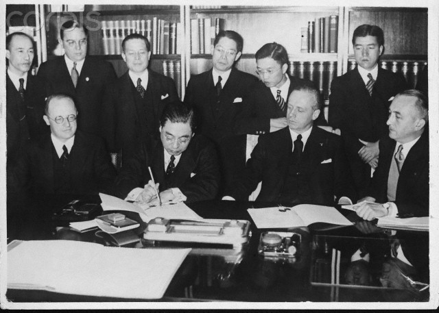Germany and Japan Sign the Anti-Comintern Pact