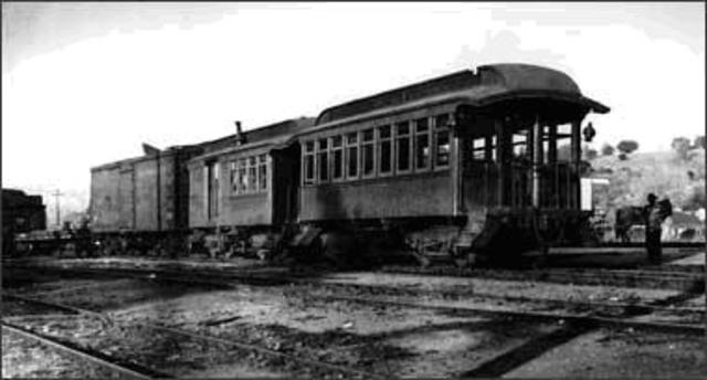 Elie and his family board the Railway Cars