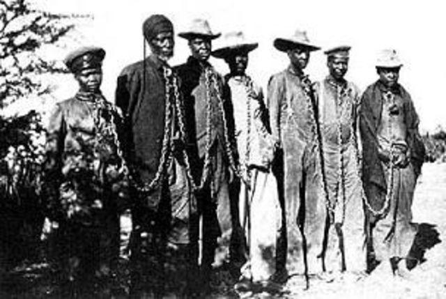 Genocidio degli Herero e dei Nama