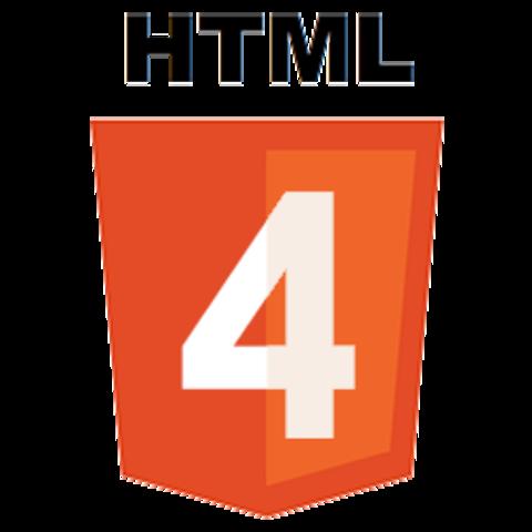HyperText Markup Language 4 (HTML 4)