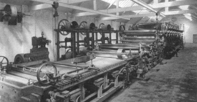 Máquinas Fourdrinier