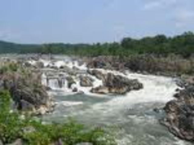 The Explorers End the Cross of the Great Falls