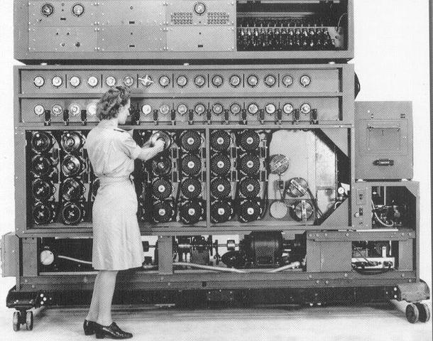 Alan Turing invents the Bombe