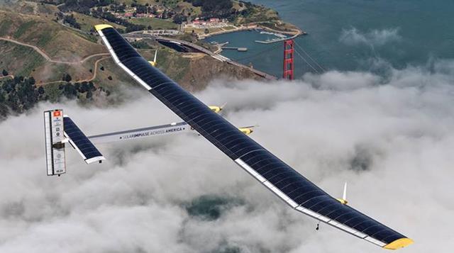 Vuelo de Avión Solar