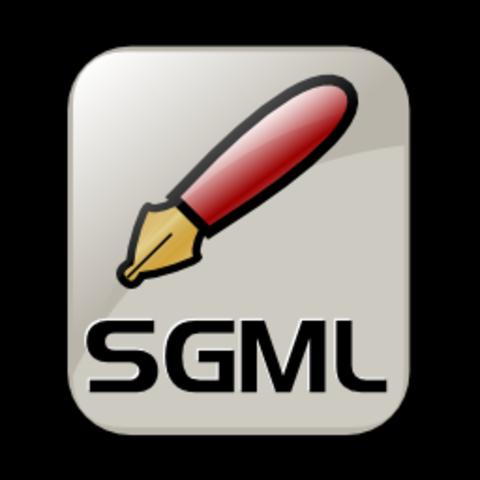SGML (Standard Generalized Markup Lenguage)