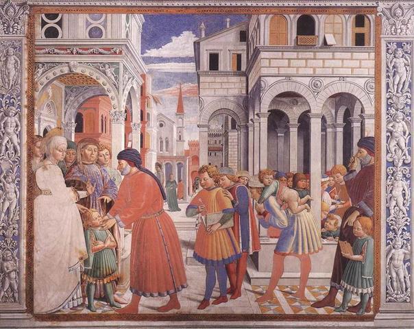 Nacimiento de Agustín de Hipona