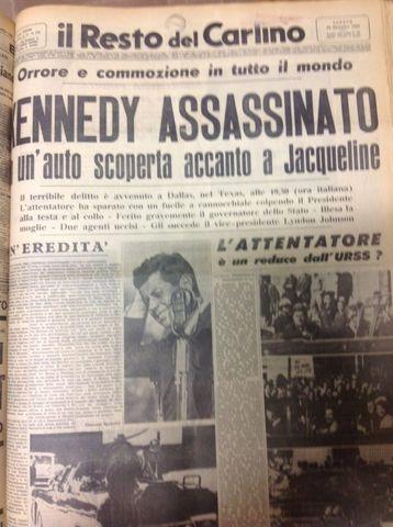 Attentato al presidente Kennedy
