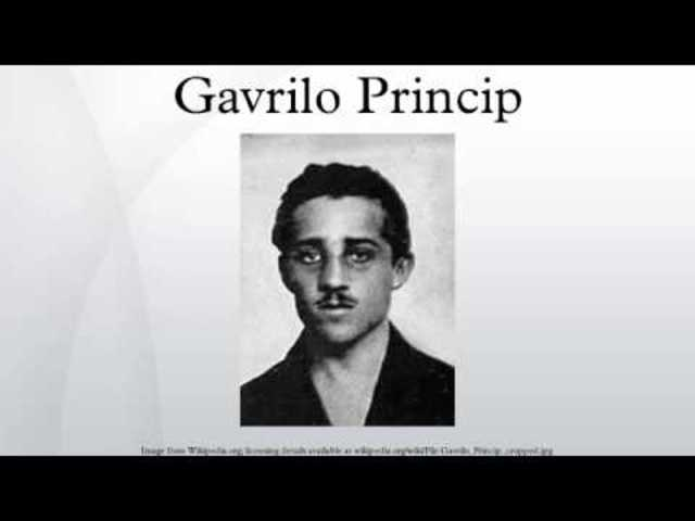 Gavrilo Princip arrested