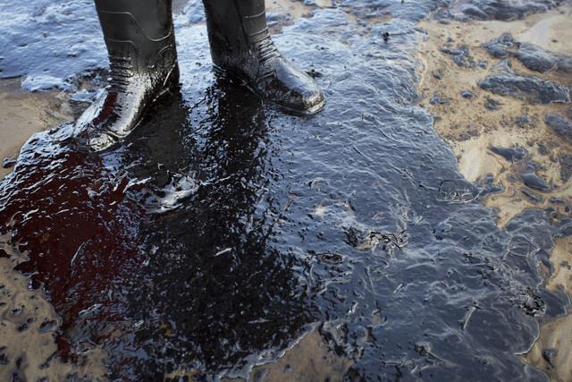 Oil Spill in Santa Barbra Channel