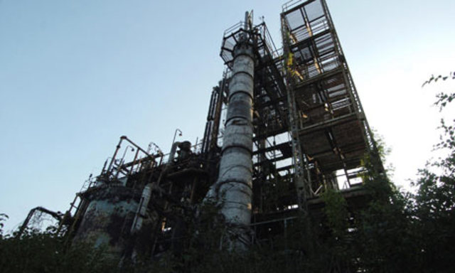 Union Carbide pesticide factory accident in Bhopal, India