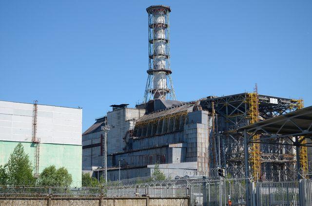 Chernobyl nuclear meltdown in Ukraine