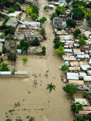 Deforestation blamed for flooding in Haiti and the Dominican Republic