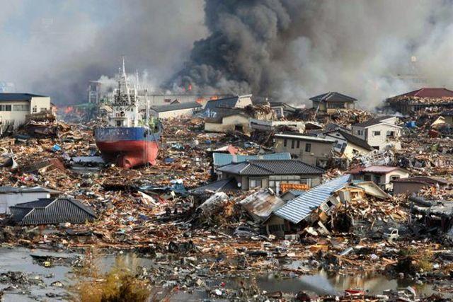 Tsunami, earthquakes, and nuclear meltdowns in Japan