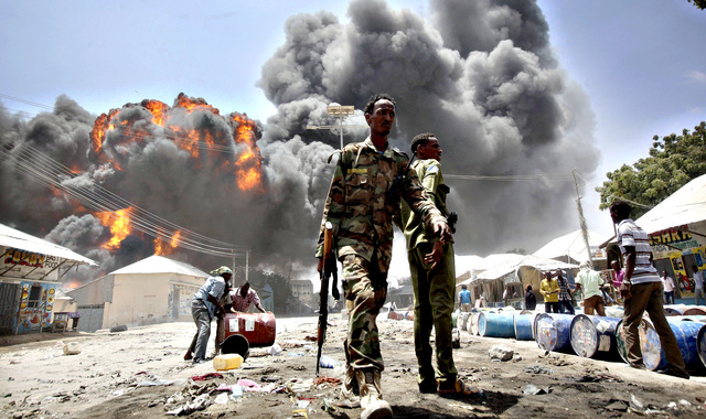 U.S. Casualties in Mogadishu